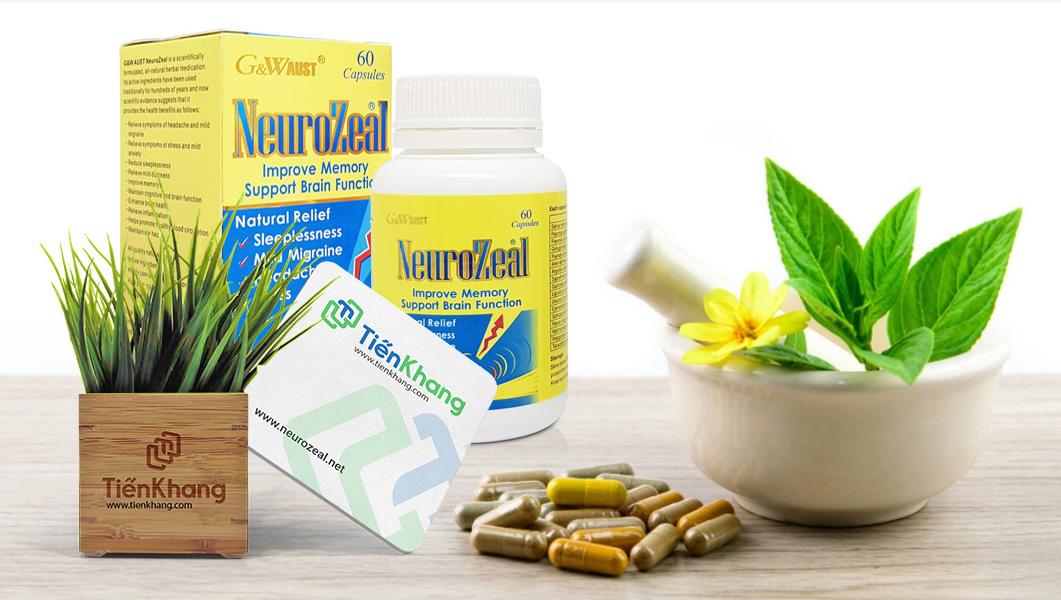 Neurozeal – Khôi phục hệ thần kinh